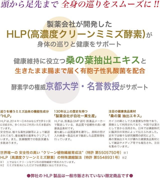 HLP 高濃度クリーンミミズ酵素